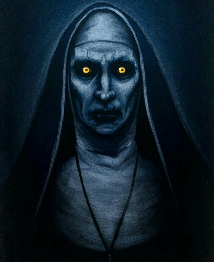 Valak the sinister nun from The Conjuring 2 | Scary Movies ...