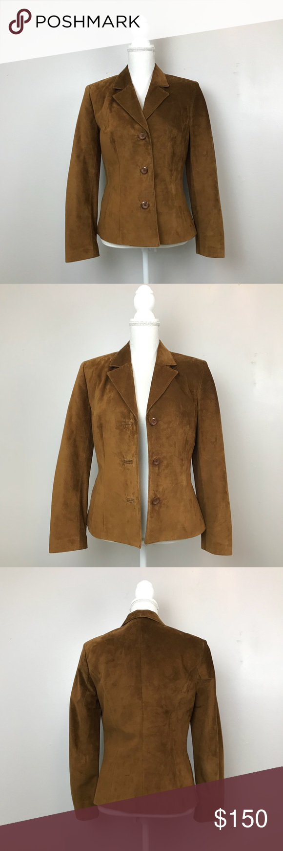 Danier Canada Genuine Suede Leather Jacket Genuine suede
