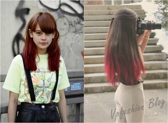 Light your life with red ombre hair extensions red ombre hair straight brown and red ombre hair styles for girls pmusecretfo Choice Image