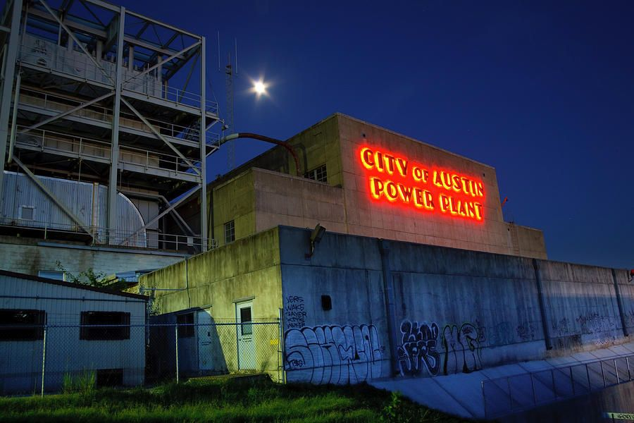 Old Austin Power Plant Photograph | 'round my hometown