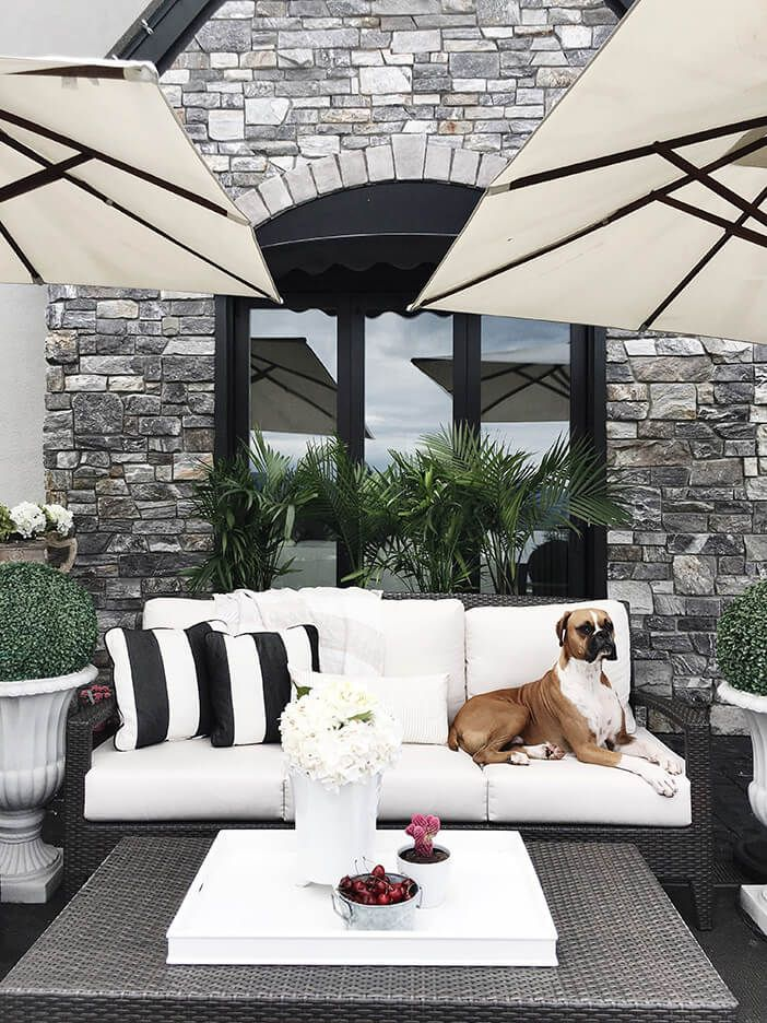 How To Create The Ultimate Outdoor Space Jillian Harris White
