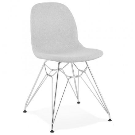Look Tendance Et Industriel Pour Cette Superbe Chaise En Tissu En 2020 Chaise Design Design Industriel Chaise