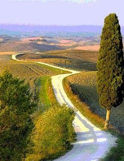 Tuscany: The Route through Tuscany from our friend Miguel Angel