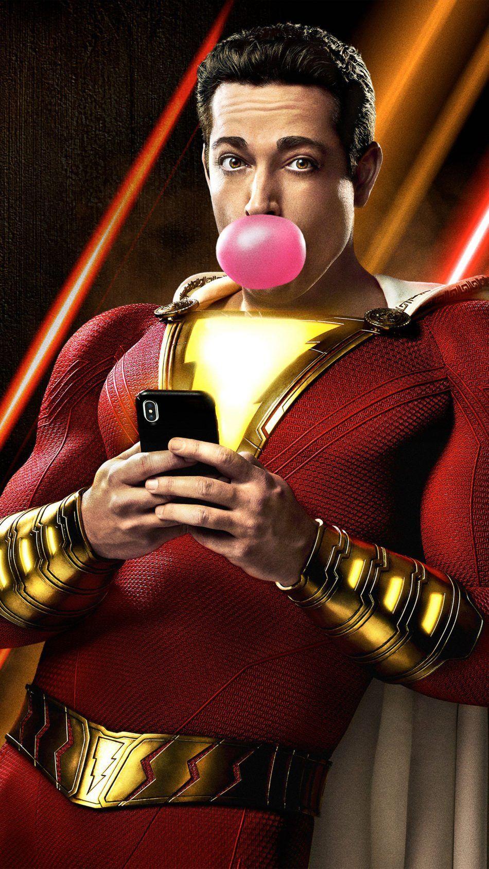 Zachary Levi In Shazam Comics 2019 Movie Wallpapers Pinterest