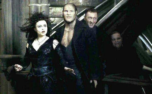 Bellatrix Fenrir And The Carrows Bellatrix Lestrange