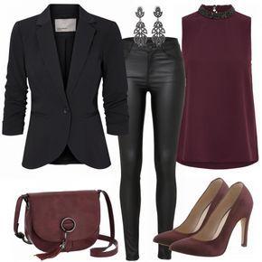Party Outfits: Merlot bei FrauenOutfits.de #businesscasualoutfitsforwomensummer