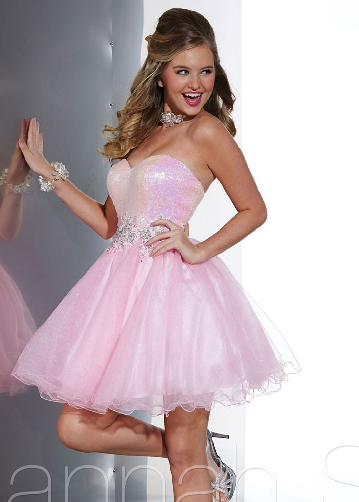 Pink 2014 Hannah S 27882 Prom Dresses   Dresses Mini/Prom ...