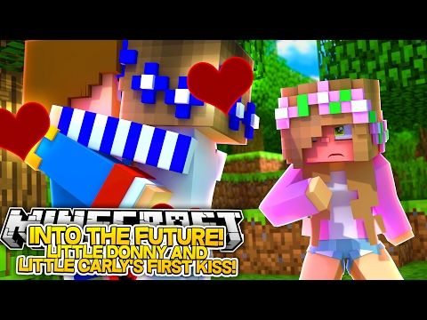 Little Carly And Little Donny Kiss Minecraft Roleplay