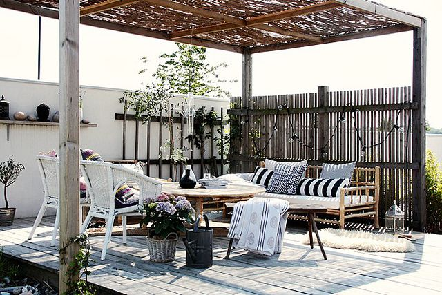Patio idea.