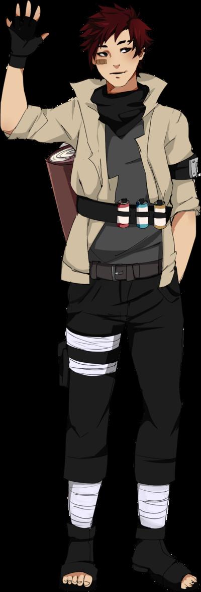 Naruto OC Shirou Heiki by on