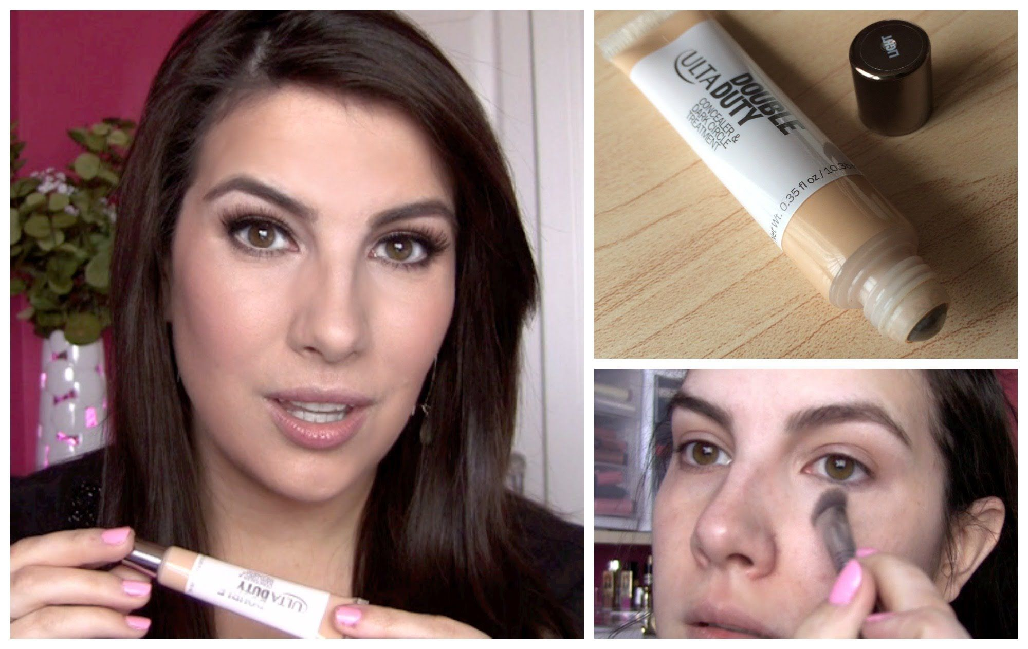 ulta double duty concealer review   beauty broadcast express