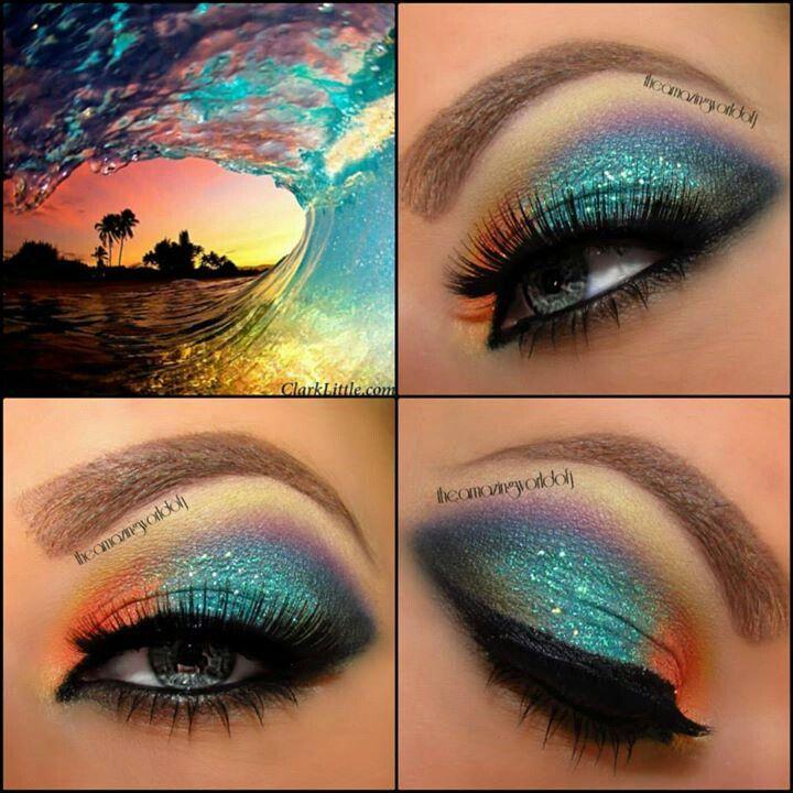 Ocean waves inspired