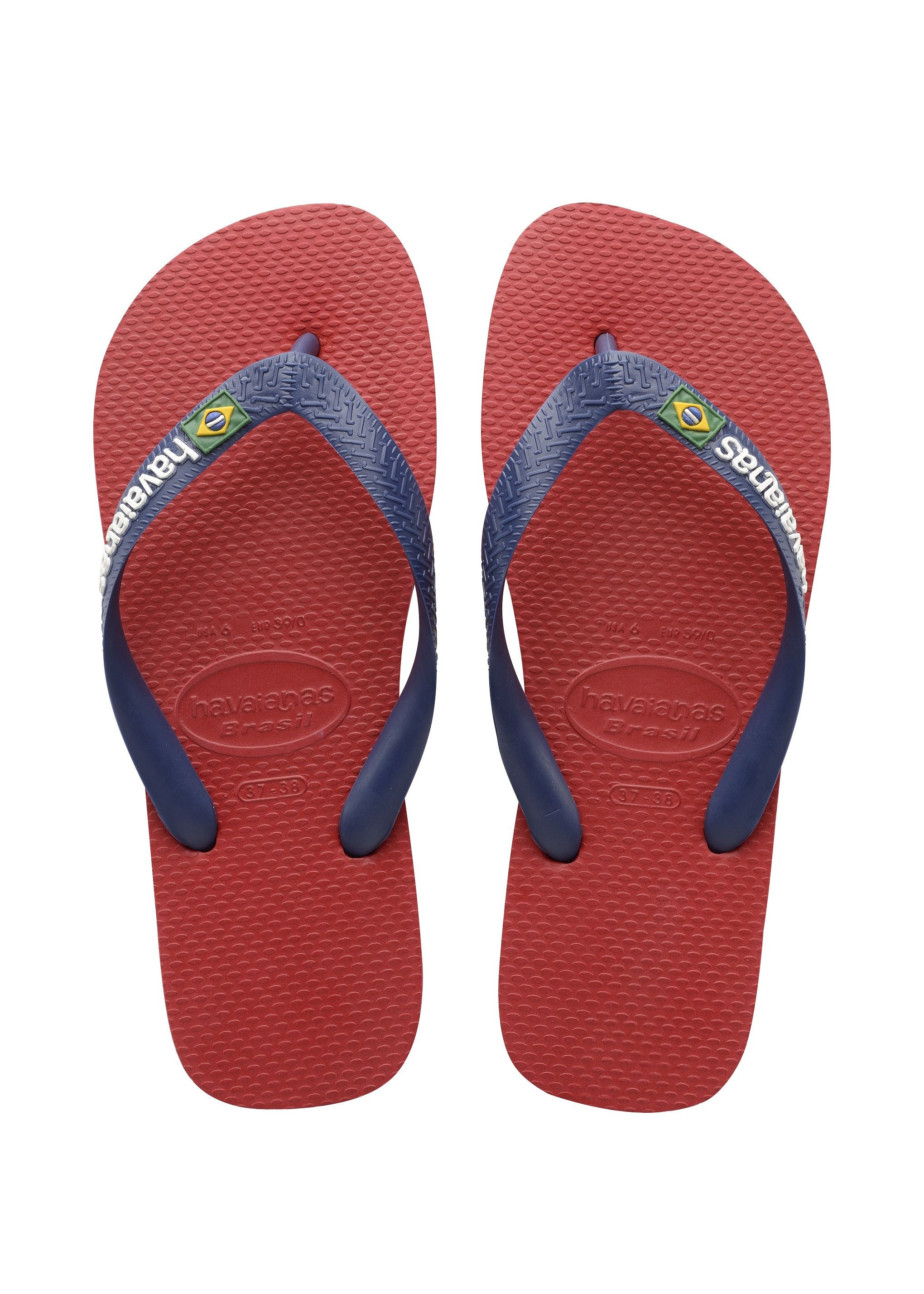 5445a02e9 Havaianas Brazil Logo Sandal Red Price From  £19.36