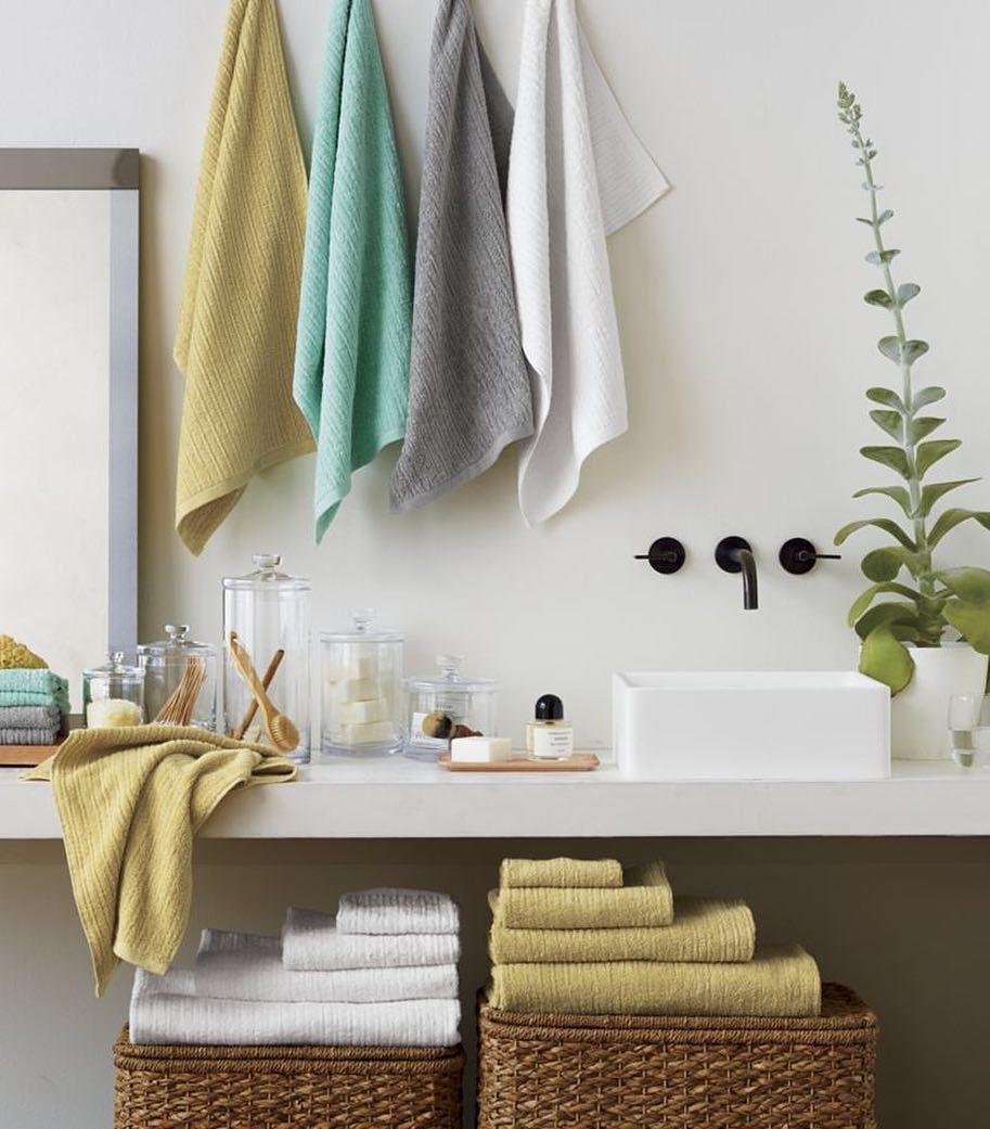 Ribbed White Bath Towel Ribbed Seafoam Bath Towel Glass Canisters Set Of 5  Ribbed Yellow Bath