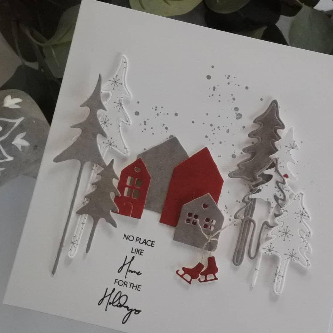 """Melanie Fromhage on Instagram: """"WERBUNG UND MARKENNENNUNG! Bei diesem Wetter zieht es mich an meinen Basteltisch � und zwar bastel ich Weihnachtskarten für Senioren.…"""""""