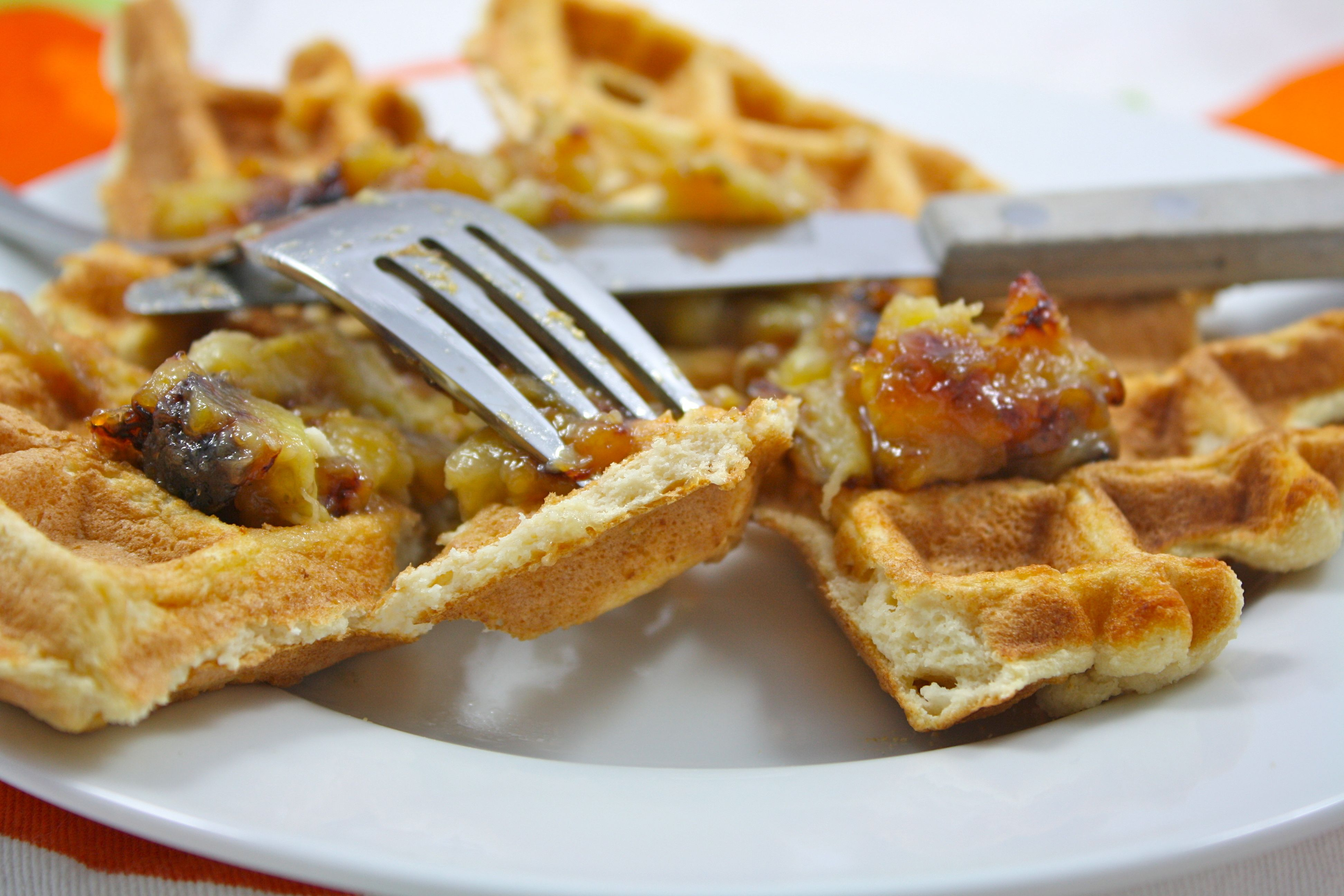 100 calorie waffle recipe. | skinny mode in 2018 | low carb, low