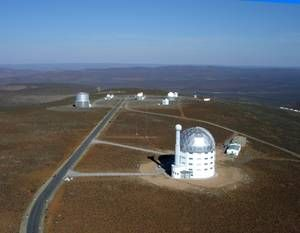 See the stars   SALT is situated at the South African