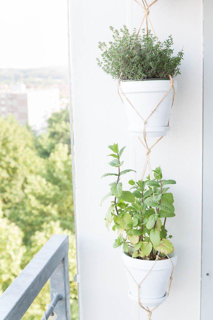 10 DIY-Tipps für einen super gemütlichen Balkon #balkongestalten