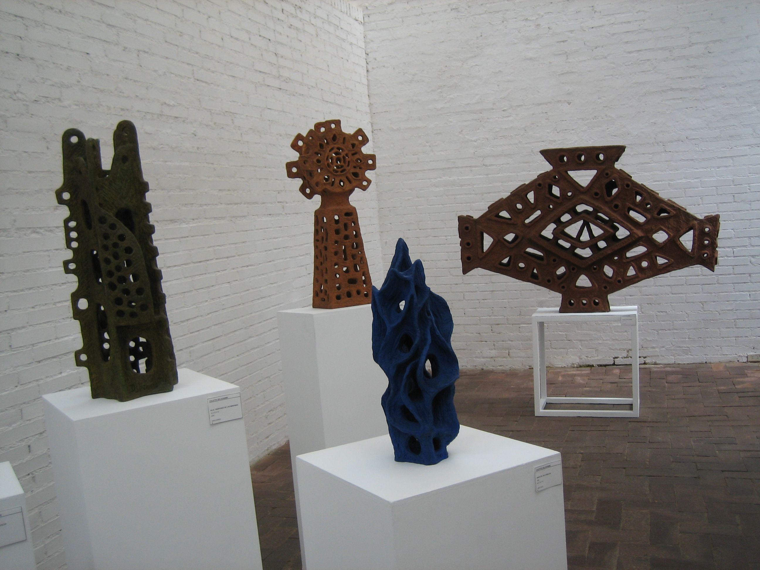 Colette Delozanne. Esculturas