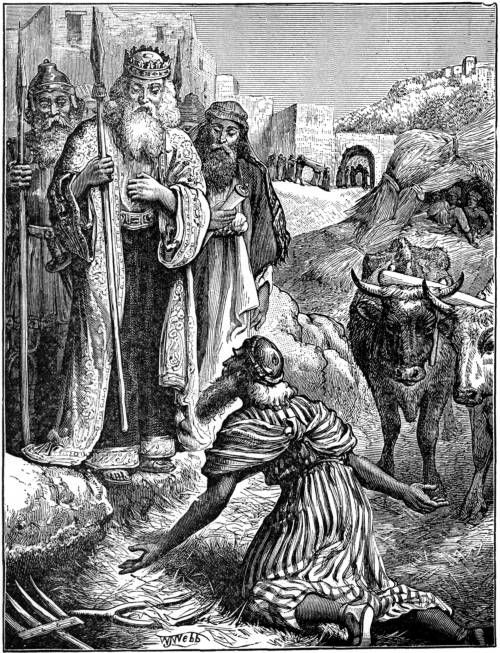 The Threshing Floor Of Ornan Was Bought By King David And