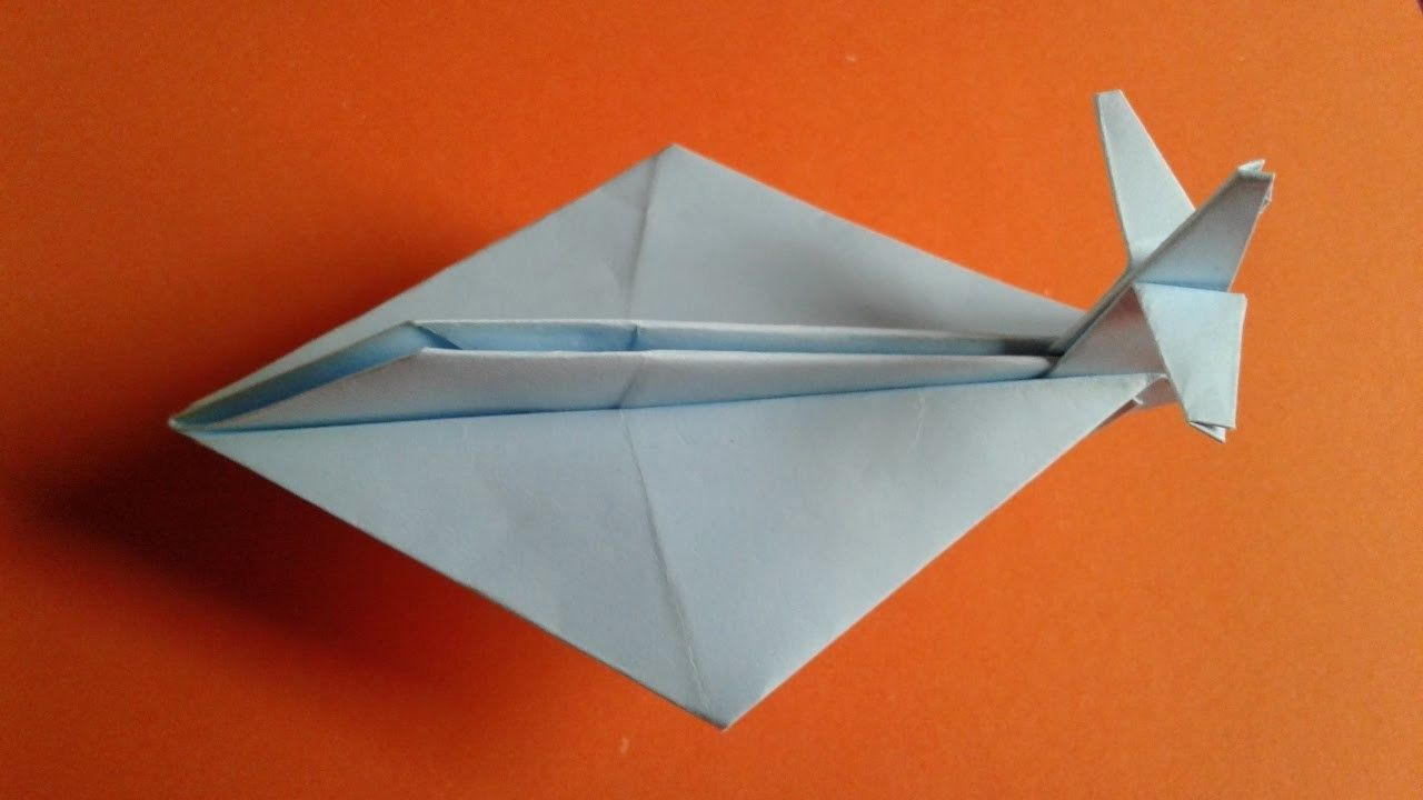 How to make a simple paper plane Lietadlá