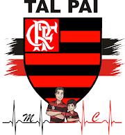 01b51535e669da Logo do Clube do Flamengo tal PAI tal FILHO   Camisas   Tal pai tal ...