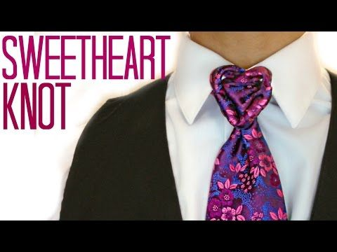 f9a5b0ea735f Check out the SweetHeart Knot! Dashboard - YouTube. Check out the  SweetHeart Knot! Dashboard - YouTube Cool Tie Knots, ...