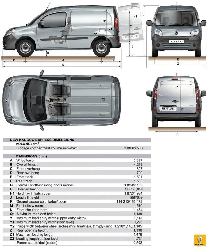 Medidas interiores de las furgos esquemas vans pinterest esquemas y interiores - Medidas interiores furgonetas ...