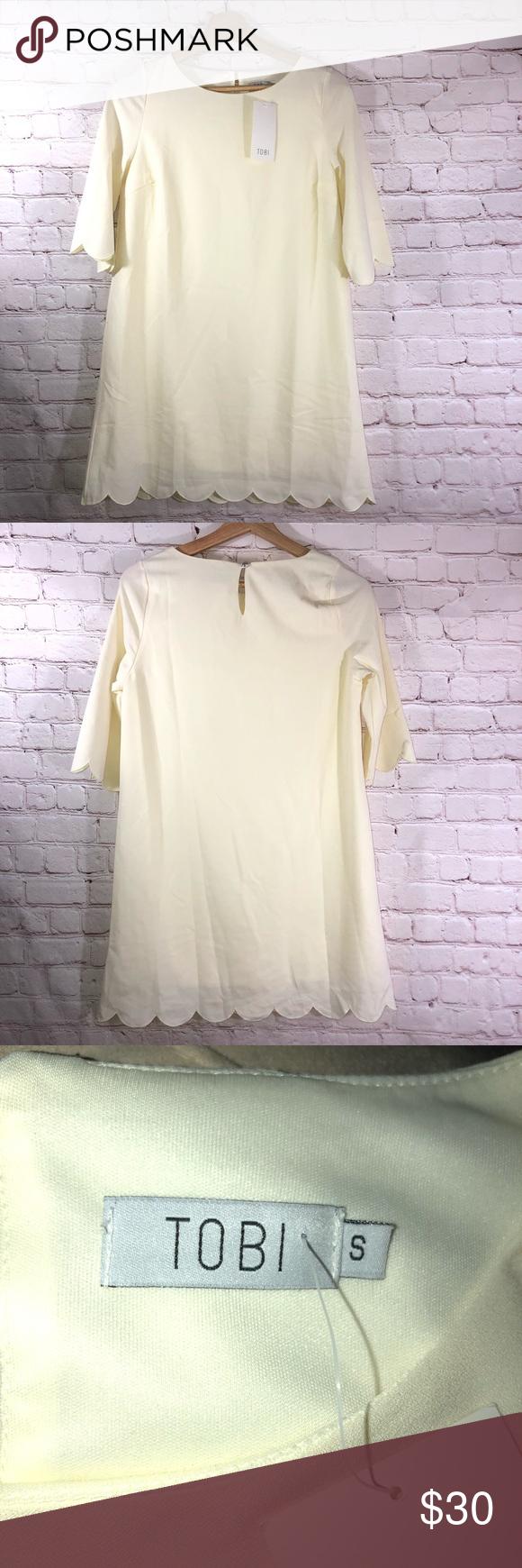 TOBI Mini Short Sleeve Dress TOBI mini dress Keyhole Short sleeves  NWT SMOKE AND PET FREE HOME  OFFERS ACCEPTED  #0707 Box E5 Tobi Dresses Mini
