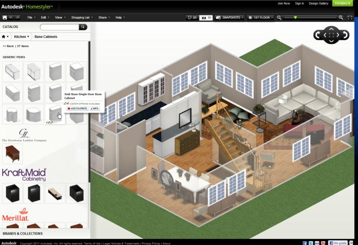 Autodesk Homestyler Home Design Software Home Layout Design 3d Home Design Software