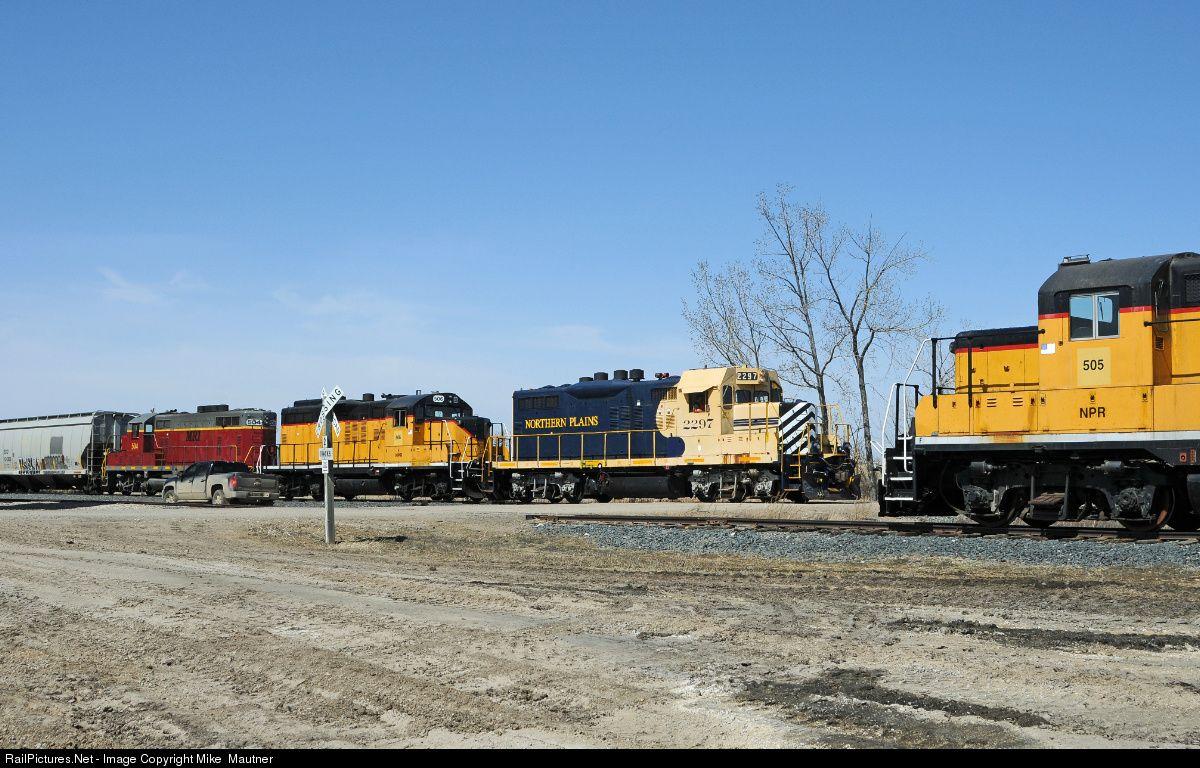 RailPictures.Net Photo: NPR 2281 Northern Plains Railroad EMD GP9u ...