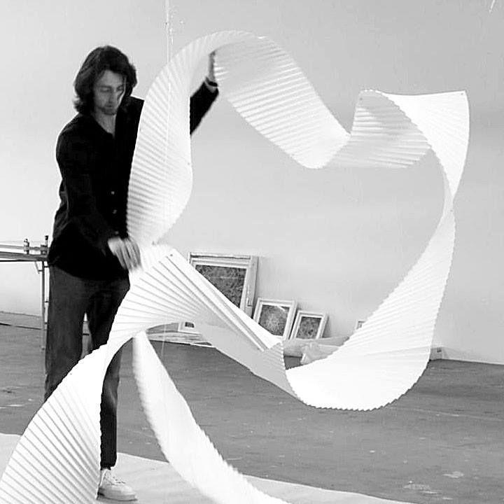 Richard Sweeney nasceu em Huddersfield, Inglaterra, em 1984. Estudou escultura em Batley Escola de Arte e Design, em 2002, que o levou ao estudo de Desenho Tridimensional no Metropolitan University Manchester, onde se concentrou em manipulação de papel para criar modelos de design, que em última análise se desenvolveram em peças esculturais. Richard combina design, fotografia, artesanato e escultura, resultando em uma produção variada de trabalho, incluindo design gráfico