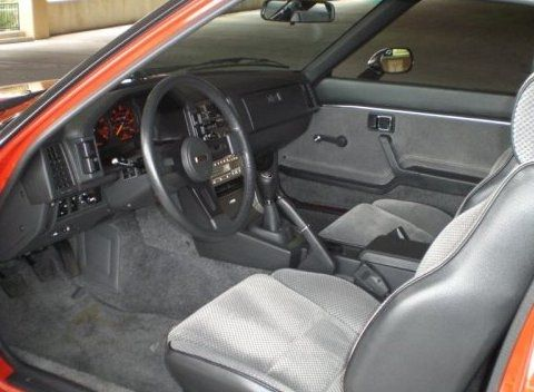 1985 Mazda Rx 7 Gs Original Interior