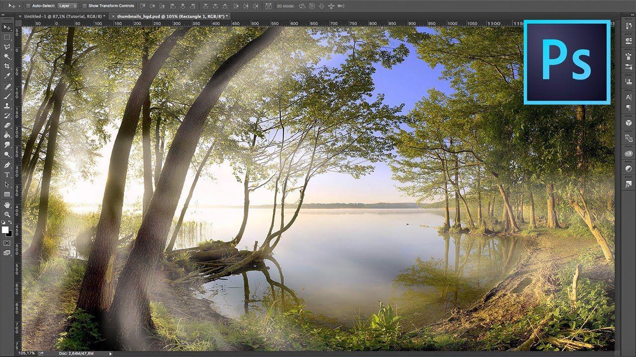 Realistische Neppe Zonnestralen - Photoshop Tutorial