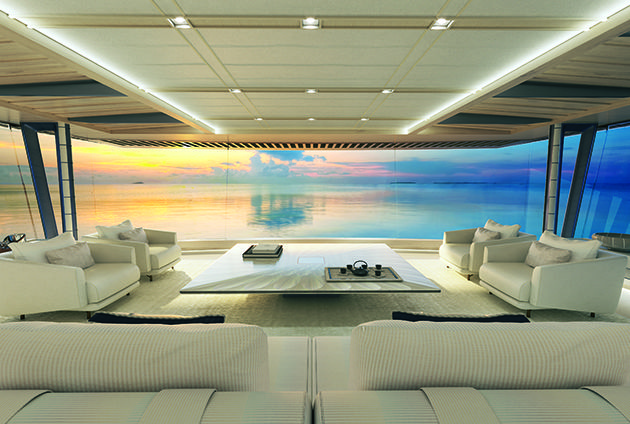 Project Zen Yachts interior Pinterest Zen, Projects and News