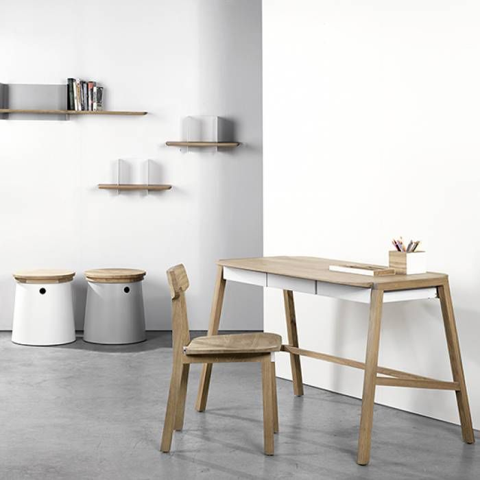 Image Result For Klein Eiken Bureau Wit Geolied For The Home