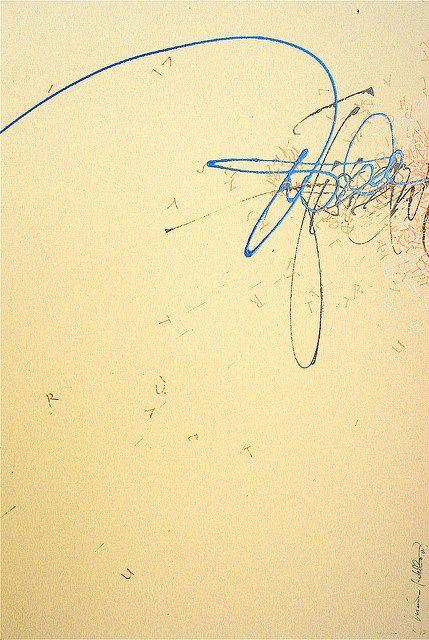 MASSIMO POLELLO calligraphy, via Passion For Paper & Print