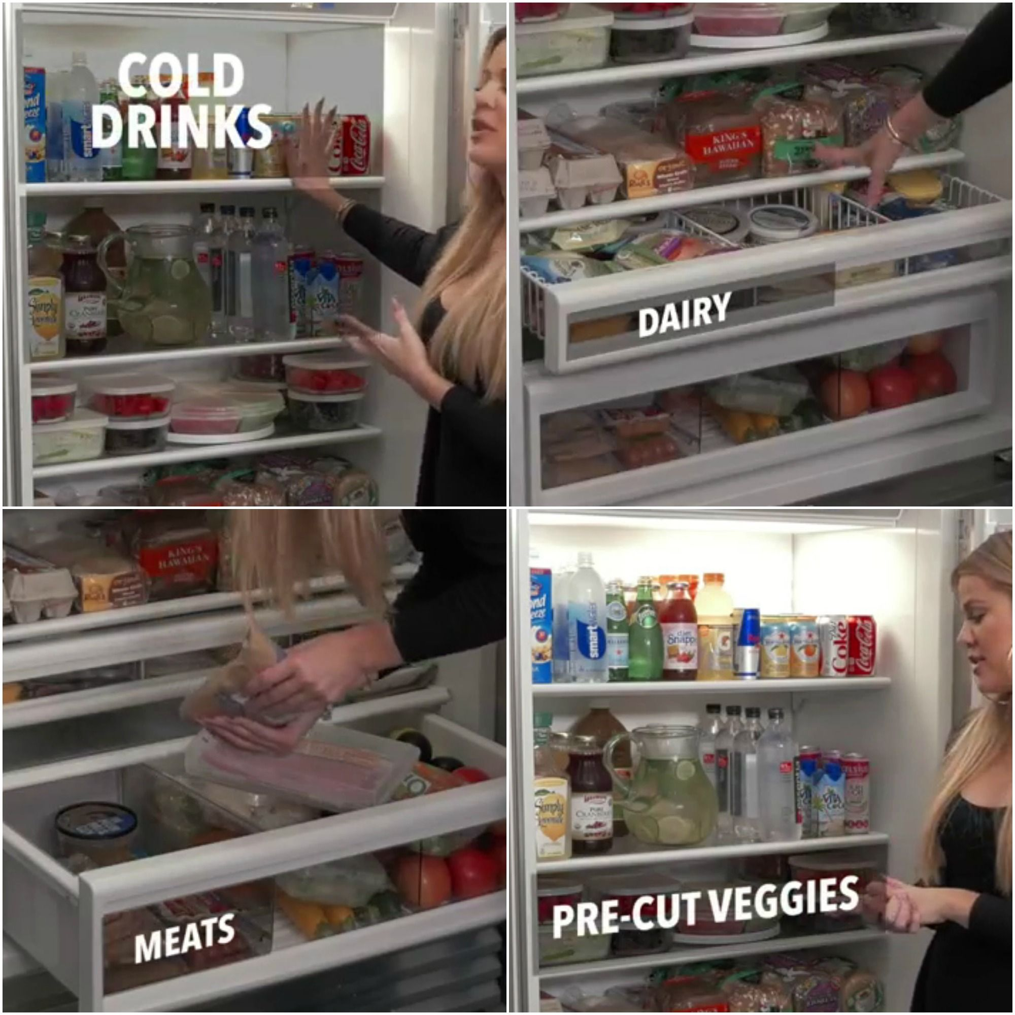 how to properly organize your fridge good to know diy. Black Bedroom Furniture Sets. Home Design Ideas
