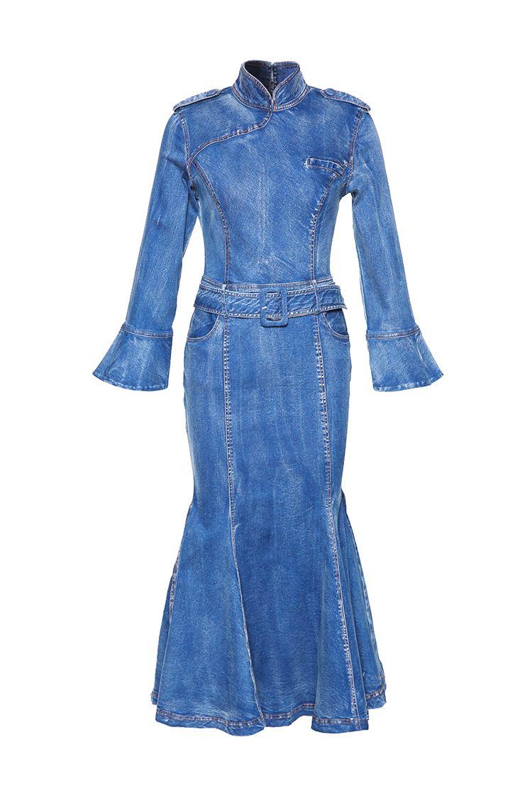 Vestidos vaqueros mujer largos