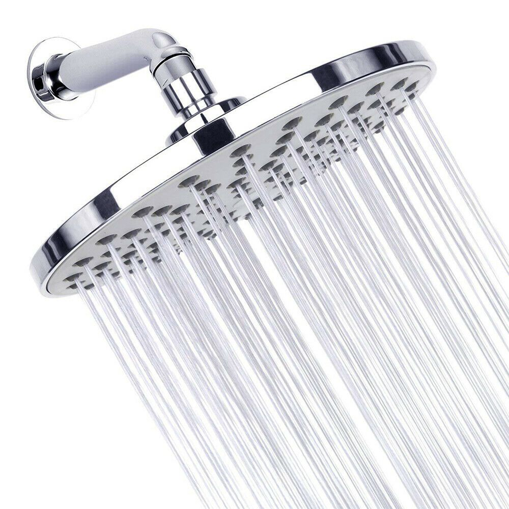 High Pressure Shower Head Rain Showerhead Bathroom Head Spray