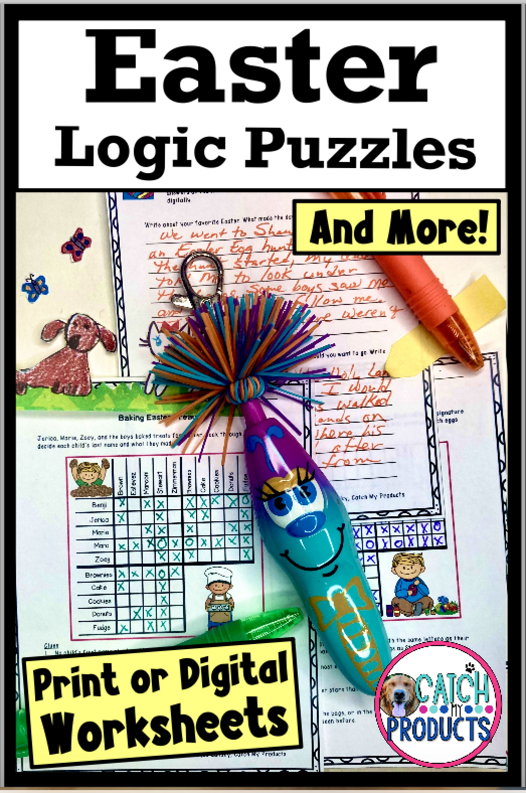 Middle School Easter Activities Logic Puzzles Print Or Easel Worksheets In 2021 6th Grade Activities Math Lesson Plans Google Classroom Elementary [ 1576 x 1046 Pixel ]