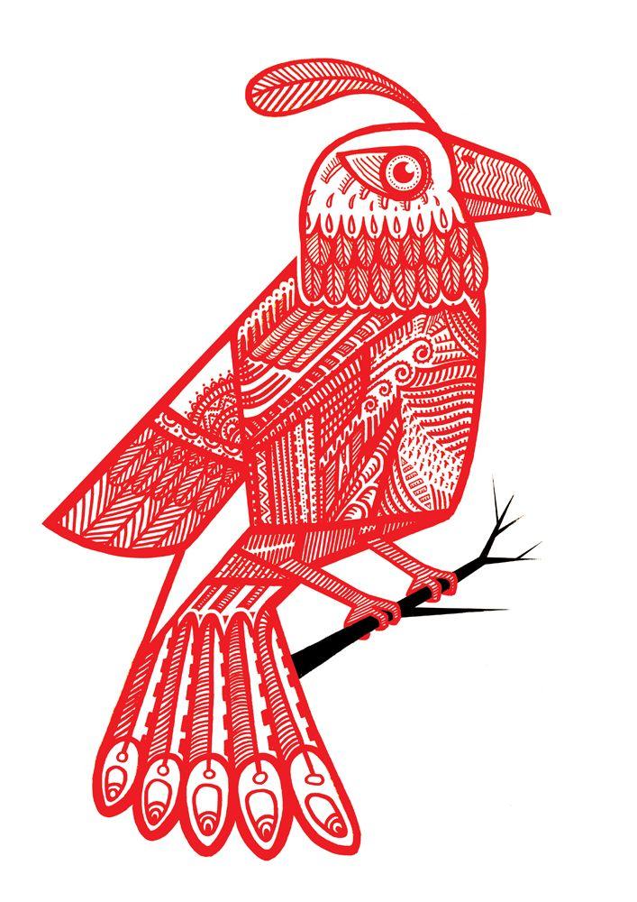 Crayola Bird by BigFace.deviantart.com on @deviantART