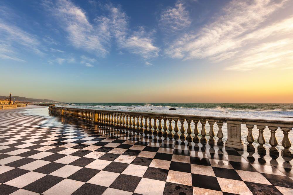 Terrazza Mascagni Livorno - Italia...❄ | Italia bellissima ...