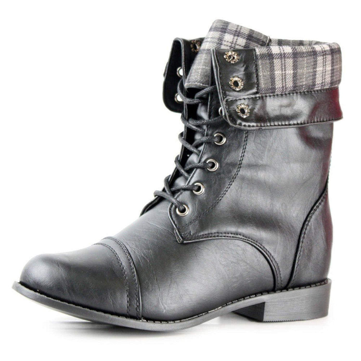 Womens Lagos Combat Boots