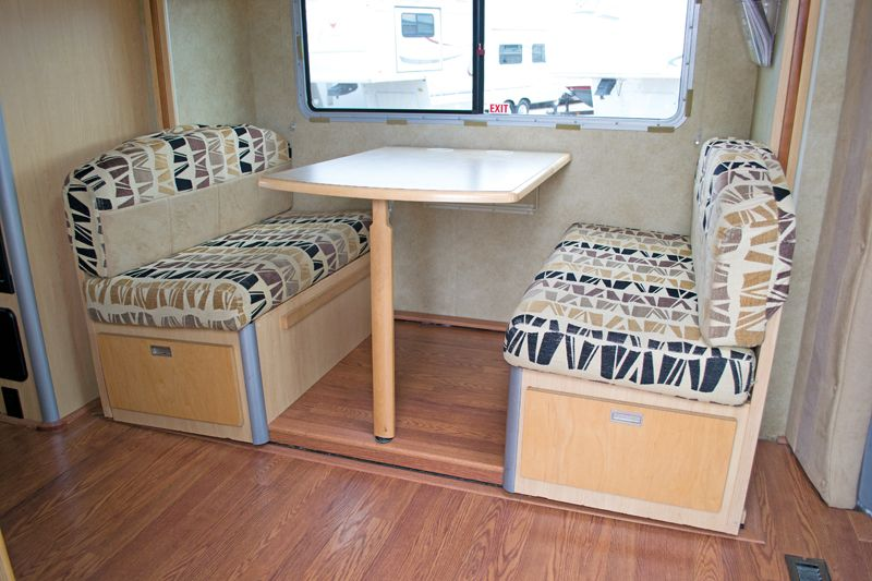 Rv Dinette Reno | Great Room: Replacing An RV Dinette