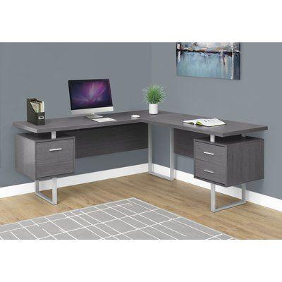 latitude run darroll 3 drawer l shape corner desk products l rh pinterest com