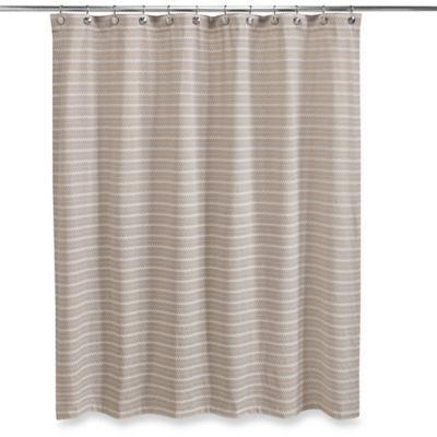Homewear Corsica 72 X 84 Shower Curtain In Linen Fabric Shower