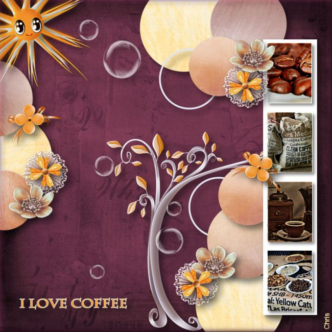 "Kit ""Coffee Break"" by Pat""s Scrap - Templates by Jessica_artdesign"