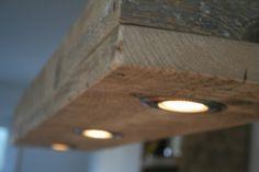 Hängelampen - Hängelampe aus altem Bauholz - ein Designerstück von Linnards bei DaWanda #altenkronleuchter