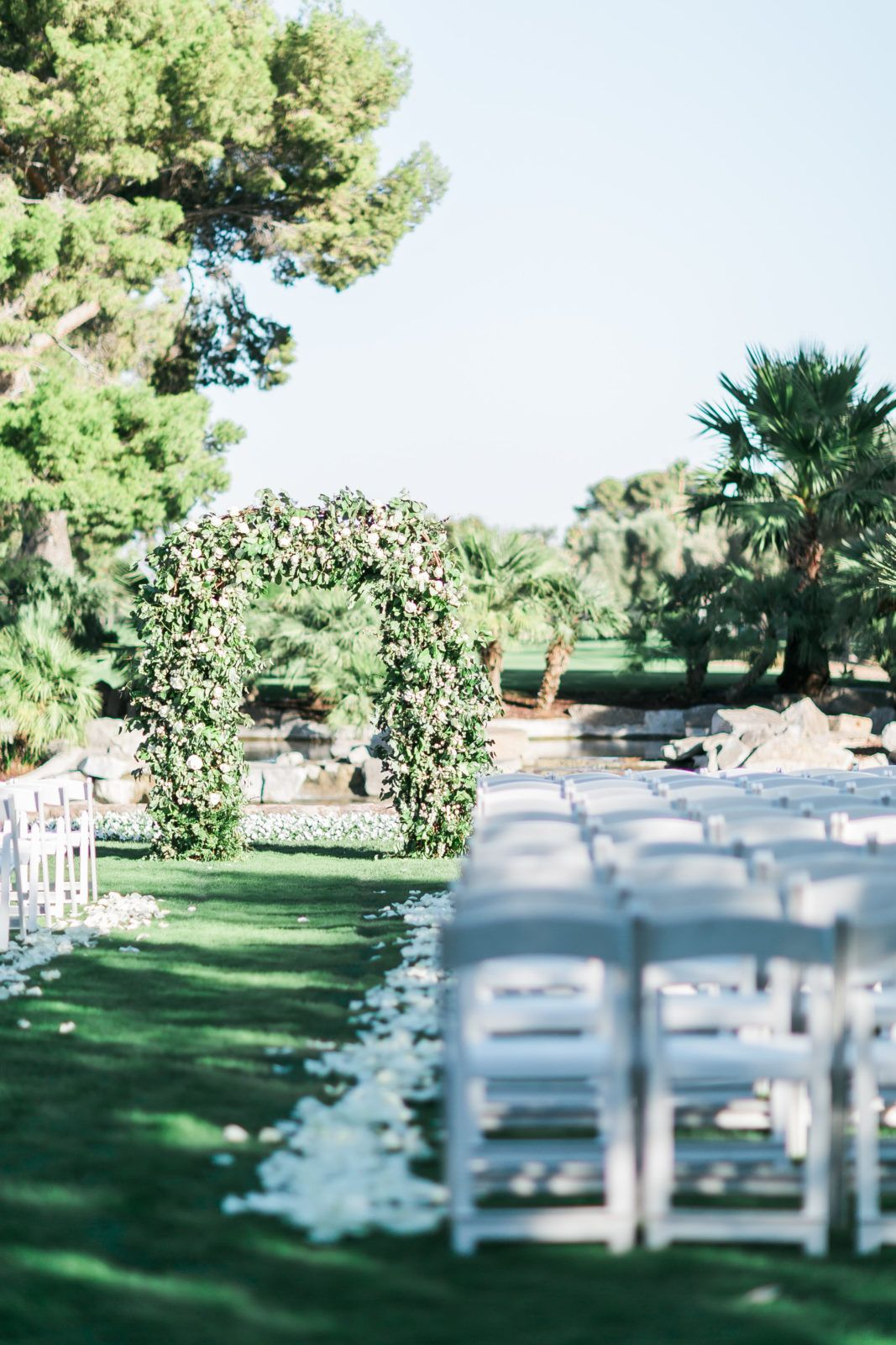 Featured in Inspired by This Olivia & Brad's Real Wedding